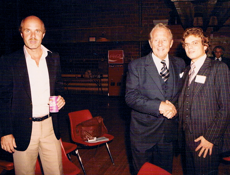 Phil with Art Linkletter and Wayne Dyer
