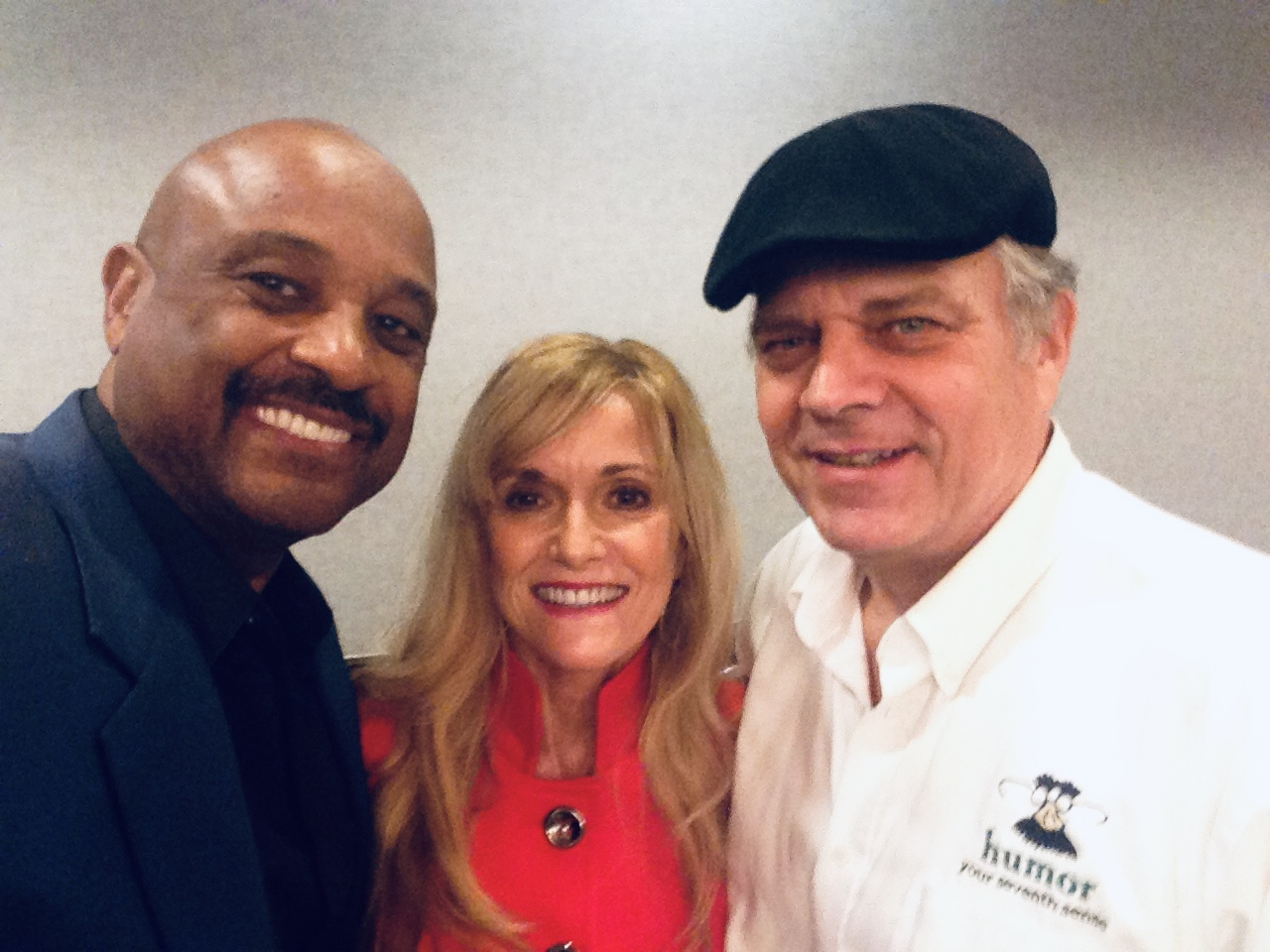 Coaching client, Dr. Willie Jolley, with Phil and Susan